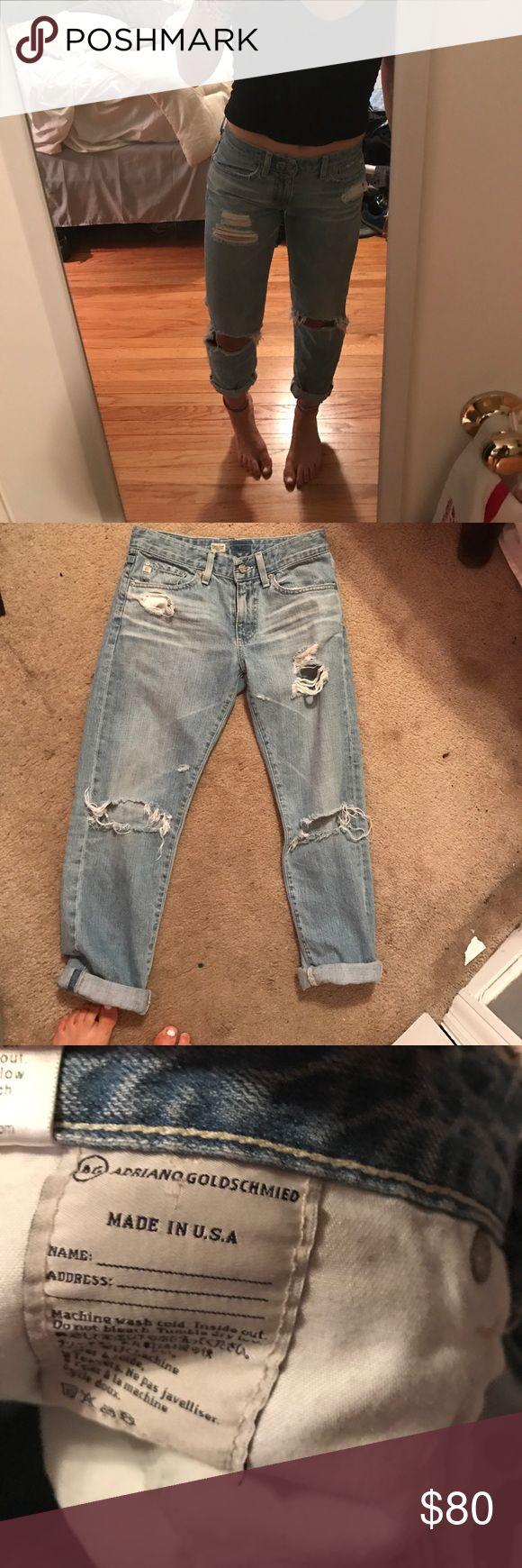 Adriano Goldschmied Boyfriend Jeans NWOT AG Adriano Goldschmied Jeans Boyfriend