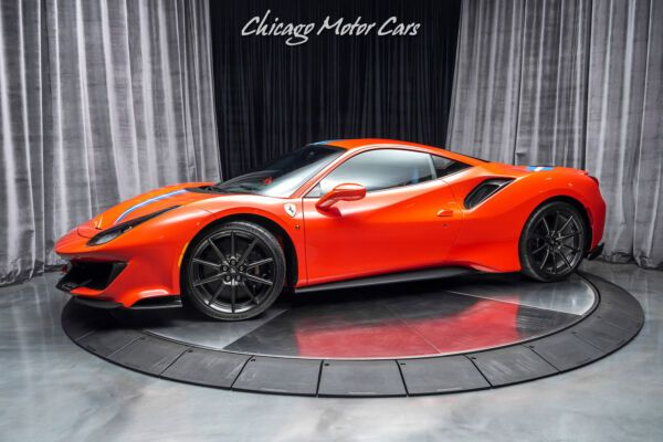 2019 Ferrari 488 Pista Original Msrp 519 797 Optioned Extremely Well C