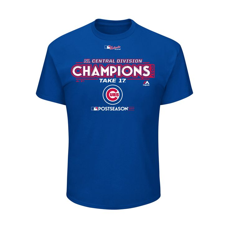 Chicago Cubs 2017 Division Champions Youth Locker Room T-Shirt  #chicagocubs #mlb #flythew  #Cubs