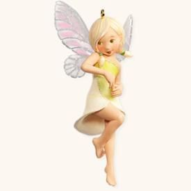 Lily Fairy from Hallmark Fairy Messengers Ornament Series (#4 - 2008)