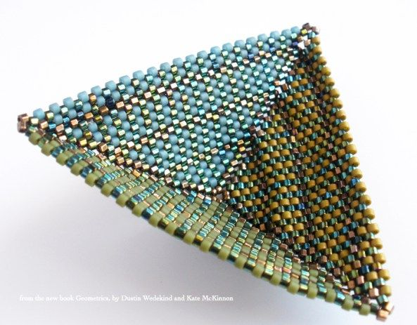 Tri-Wing Rings and such | CONTEMPORARY GEOMETRIC BEADWORK