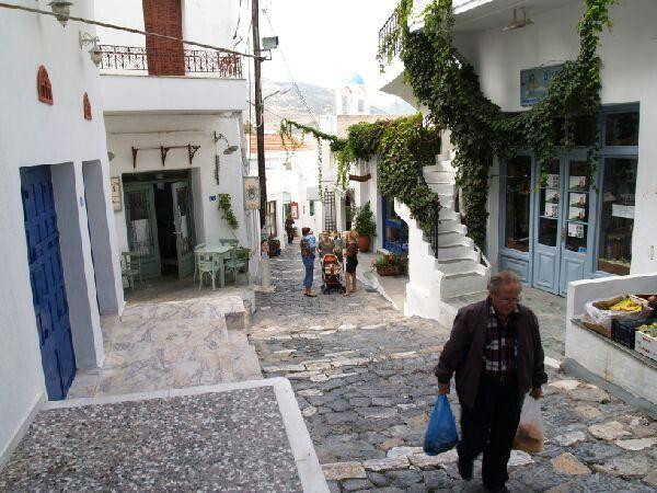 Skyros, the city.