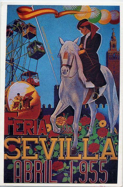 Sevilla. Feria de Abril. 1955