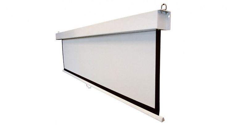 "Tauris 120"" Pull Down Projector Screen - Projectors & Screens - TVs - TV, Blu-ray & Home Theatre 