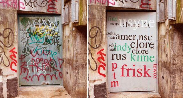 Rennes : il repeint les graffitis pour les rendre …