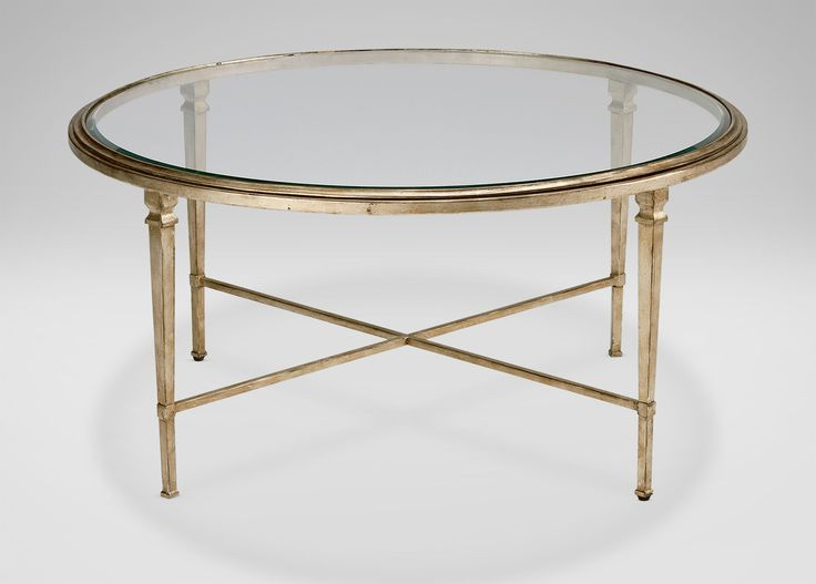Collectoru0027s Classics Round Heron Coffee Table   Traditional   Coffee Tables      By Ethan Allen