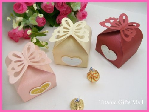 Free shipping butterfly pattern wedding favors box 50Pcs/Lot Candy Boxs Baby Shower Gifts Pack-in Event & Party Supplies from Home & Garden on Aliexpress.com