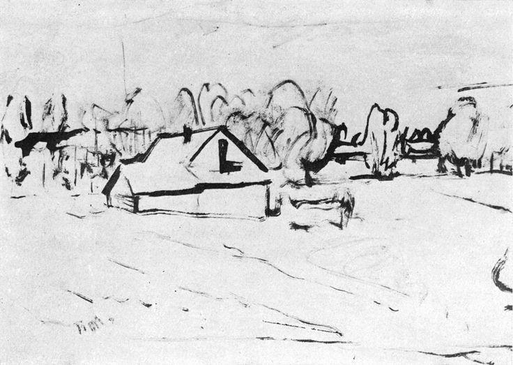 Pavel Miturich (1887-1956)  Пётр Васильевич Митурич (1887-1956гг)