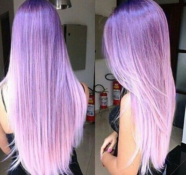 aesthetic, alternative, beautiful, beauty, colored hair, dyed hair, girl, girly, goal, grunge, hair, hairstyle, hipster, indie, inspiration, long hair, pale, pastel, perfect, purple, purple hair, straight hair, style, tumblr, winter, hair goal