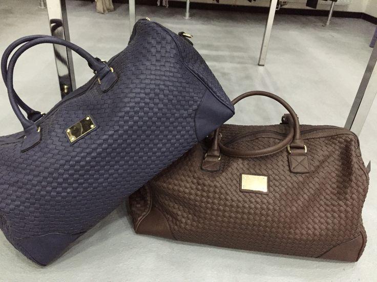 Weekendje weg dan mogen deze tassen mee !