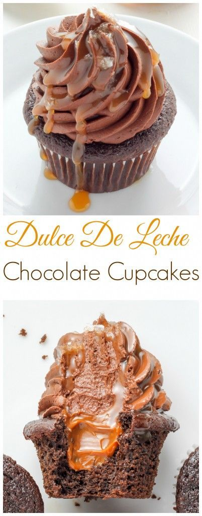 Dulce De Leche Chocolate Cupcakes - these are INCREDIBLE!!!!