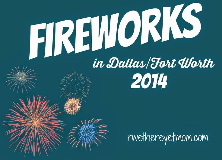july 4th fireworks dallas 2013
