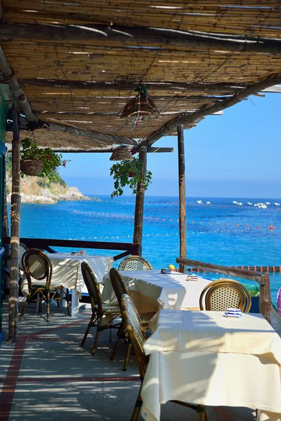 Capri, Italy -- I've been here! I think maybe sitting at that table right in front. Ate Caprese Salad...of course!