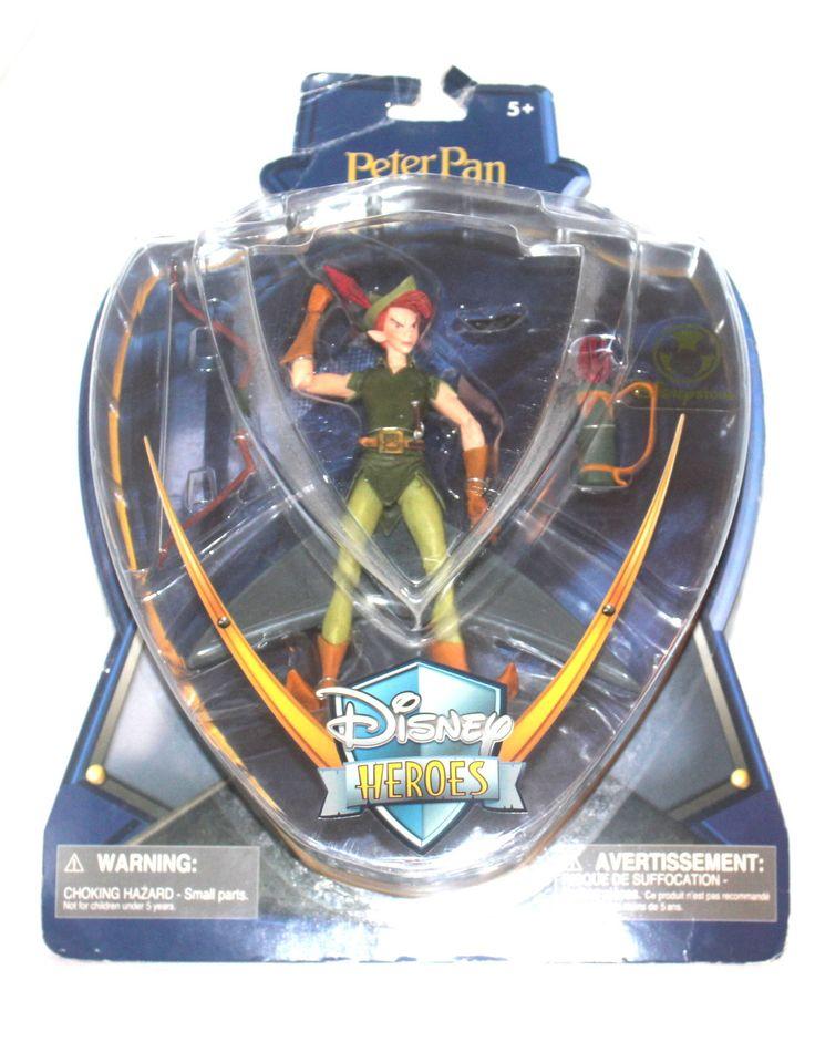 Disney Heros Peter Pan Action Figure, Antique Alchemy