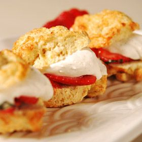 Mint Strawberry Shortcakes, a recipe from the ATCO Blue Flame Kitchen.