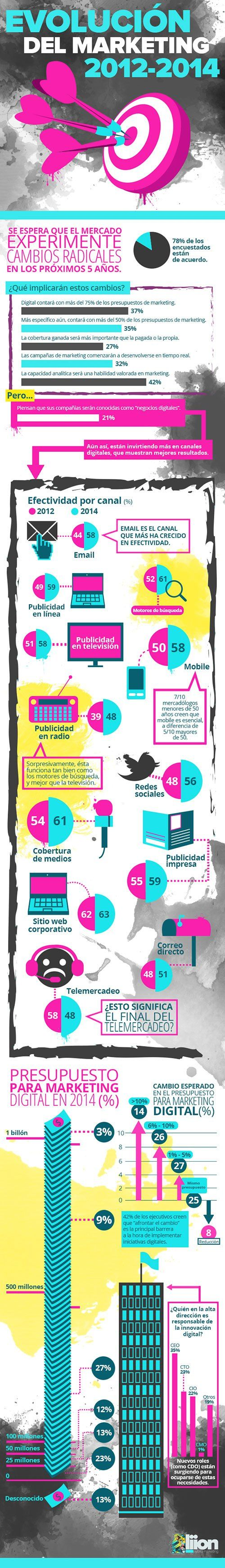 Evolución del marketing 2012-2014