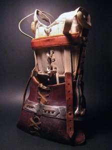 Leather and Metal Child's Medical Corset Early 20thC ...