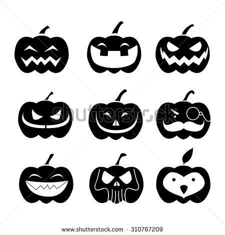 Pumpkins Halloween Icons