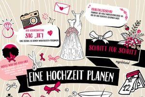 Eine Hochzeit planen in nur 14 Schritten! Ja das geht! Wir zeigen wie und geben die Checkliste an die Hand.
