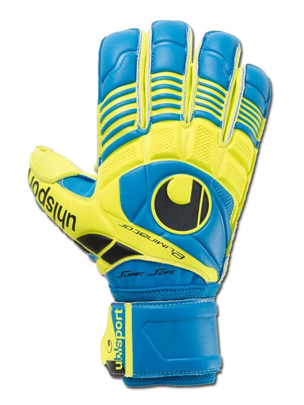 Guante #Uhlsport #Eliminator #Supersoft, gama media del mismo modelo que usa #DiegoLopez.  http://www.cornerfootball.com/es/uhlsport/3988-guante-uhlsport-eliminator-supersoft.html