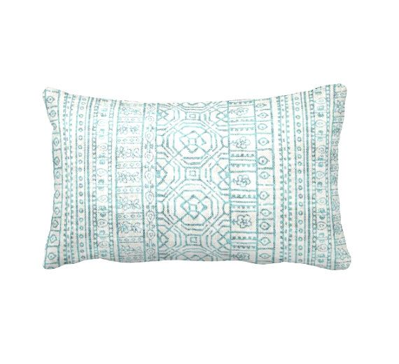 Light Blue Pillow Cover Blue Lumbar Pillows Blue Throw Pillow Covers Tribal Pillows Aztec Pillows Decorative Pillows for Bed Accent Pillows by ReedFeatherStraw on Etsy https://www.etsy.com/listing/269825867/light-blue-pillow-cover-blue-lumbar
