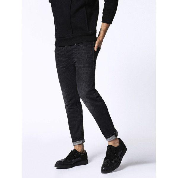 Diesel SLEENKER 0860P Skinny ($198) ❤ liked on Polyvore featuring men's  fashion, men's · Grey Skinny JeansGrey ... - Best 25+ Grey Jeans Men Ideas On Pinterest Men Fashion Casual