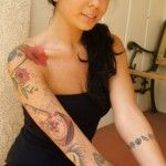 Tattoos-for-Girls-Full-Arm-with-Roses.