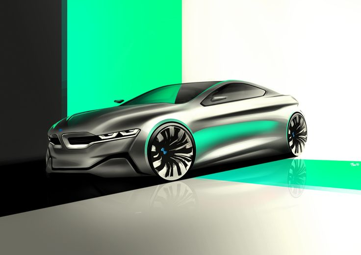 Automotive Sketches and Renderings on Behance