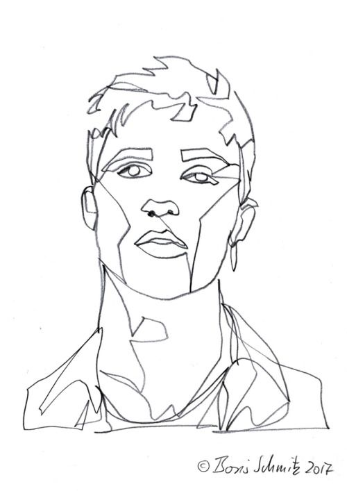 Continuous Line Drawing Of Face : Best images about jacob bixenman on pinterest models