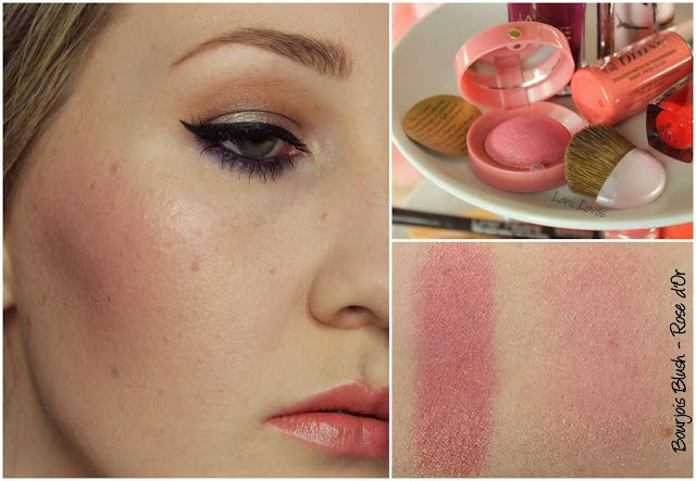 Bourjois Blush - Rose d'or swatch & review