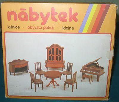 Rebecca's Collections: Nābytek by Chemoplast of Brno, Czechoslovakia