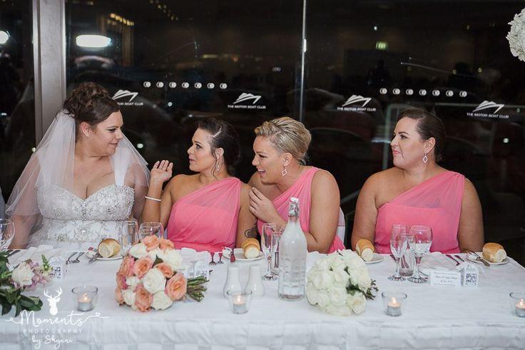 Sydney Wedding Photography. Wedding decor. Pink. Wedding reception. Bridesmaids. www.momentsphotography.com.au