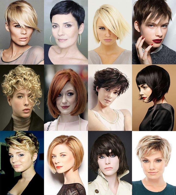 En moda kadın kısa saç modelleri