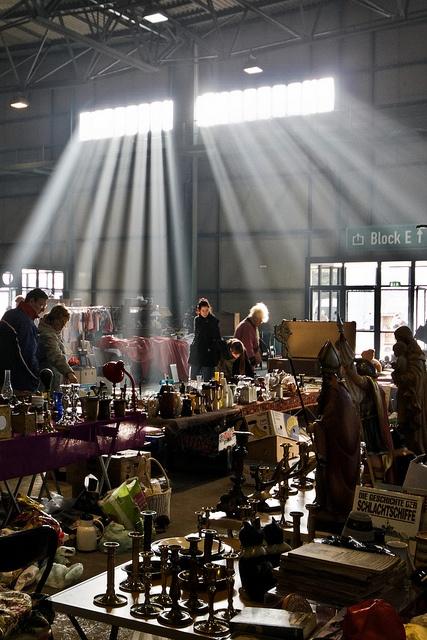 Flohmarkt, Leipzig