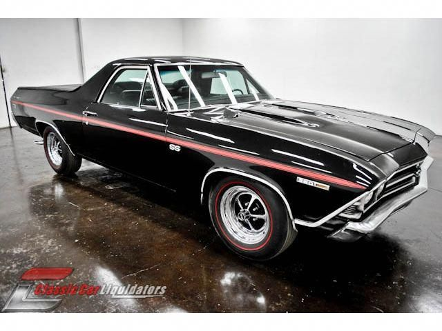 1969 Chevrolet El Camino 350 V8 Turbo 400 Classic Cars Muscle