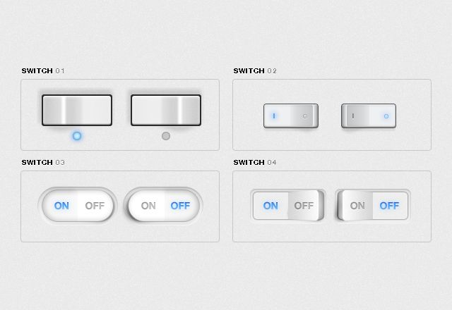 Free Free UI Toggle Switches UI kit for Photoshop - http://www.vectorarea.com/free-free-ui-toggle-switches-ui-kit-for-photoshop