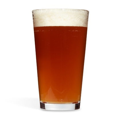 Fill a pint glass a little more than halfway with a good American pale ale (we like Mendocino Red Tail Ale), well chilled. Top off slowly with ginger beer, the spicier the better.