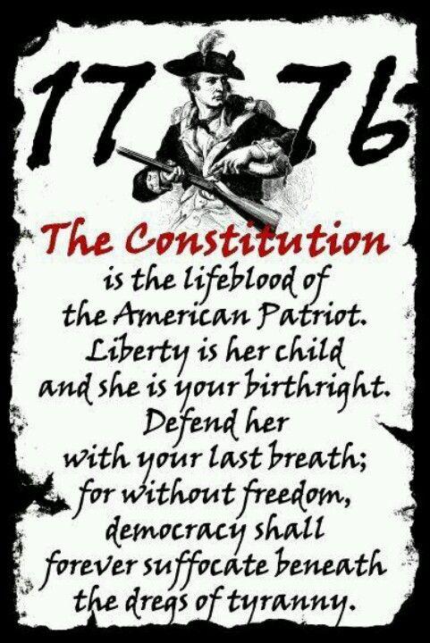 III percenter:  The Constitution