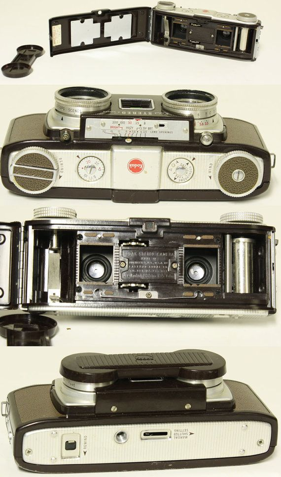 Vintage camera  Kodak Stereo Camera by moxiethrift on Etsy, $72.50