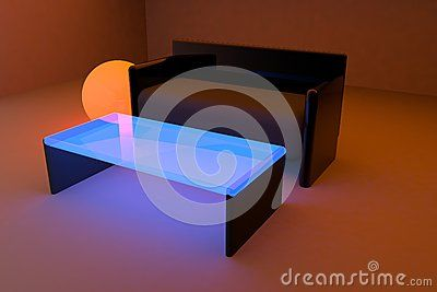 #3d #livingroom #abstract