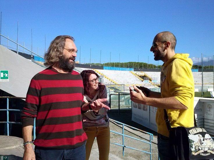 Alice durante l'intervista con Dino Pagliari.