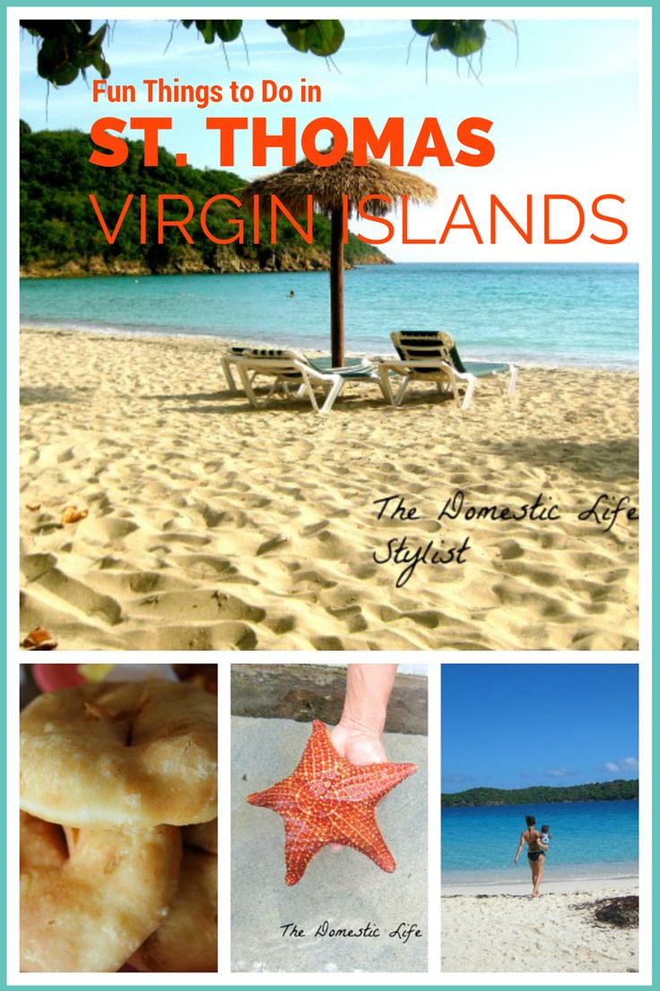 Fun things to do when visiting St. Thomas, Virgin Islands (tips from a former resident of over 20 years)