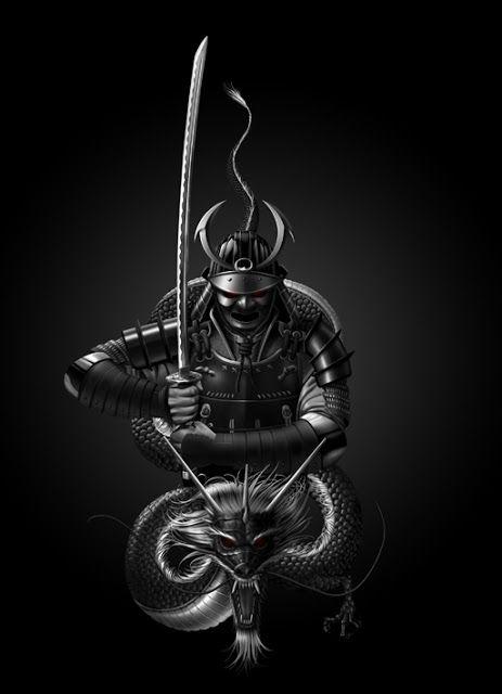 VargesART: Tattoo Samurai
