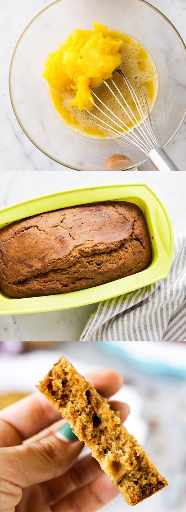Полезный тыквенный хлеб (кекс)!! http://fullspoon.ru/poleznyj-tykvennyj-hleb-keks/