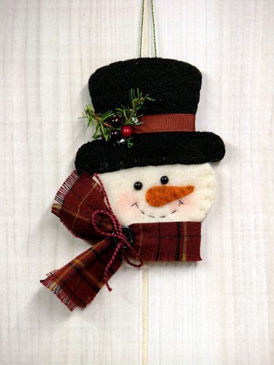 O Christmas Tree: Frosty Snowman Ornament