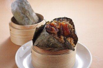 弄堂生煎饅頭 (ロンタンセンチンマントウ)上海粽(ちまき)
