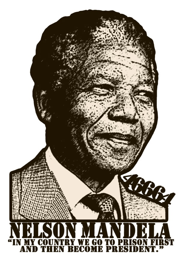 Nelson Mandela -The Design Tabloid - My real time hero and role model.