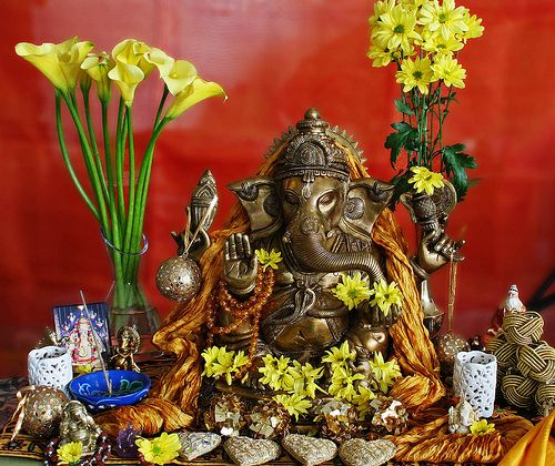 Ganesha is the one of the most loved and popular god in India. He is the elephant headed god who rides a mouse and is associated with anything related to Hinduism. In India commencement of Hinduism starts with festival of Lord Ganesha. He is the Lord of success and destroyer of evils and obstacles. He