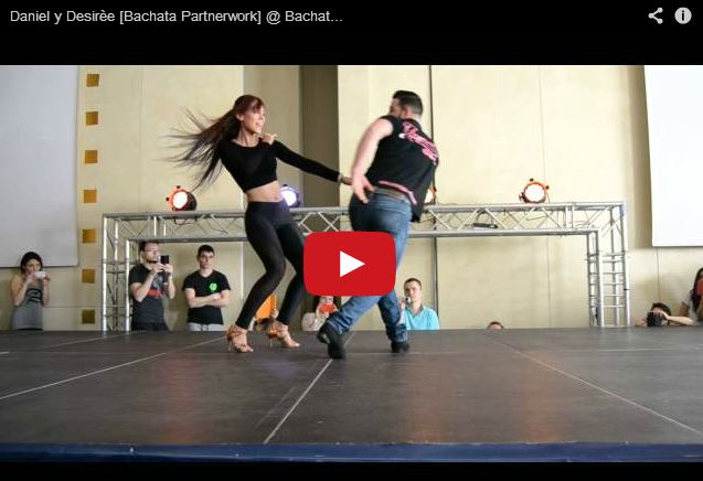 BACHATA w wykonaniu DANIEL & DESIREE jak zawsze cudna!  ~~ link do video:  http://www.tanczyc-chce.pl/filmiki/video/3541-daniel-y-desiree-bachata-partnerwork--bachata-day-2014?groupid=81
