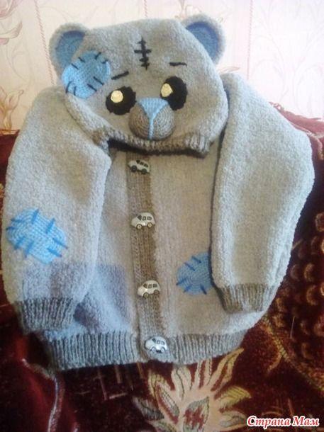 Кофточка мишка Тедди.